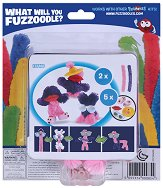 """Направи сам гъвкаво чудовище - Silly Chic - Творчески комплект от серията """"Fuzzoodles"""" - играчка"""