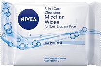Nivea 3-in-1 Cleansing Micellar Wipes - сапун