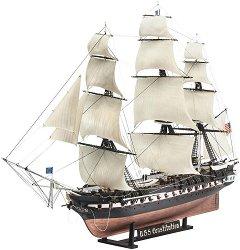 Кораб - U.S.S. Constitution - Сглобяем модел -