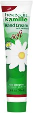 """Herbacin Kamille Hand Cream Soft - Крем за ръце с лайка и пантенол от серията """"Kamille"""" - продукт"""