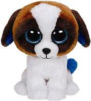 """Кученце - Duke - Плюшена играчка от серията """"Beanie Boos"""" - играчка"""