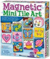"""Направи сам и нарисувай - Керамични магнити - Творчески комплект от серията """"Girl Craft"""" - играчка"""