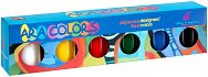 Акрилни бои - Ara Colors - Комплект от 6 цвята x 14 ml