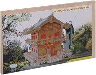 Японска къща - Дървен 3D пъзел - пъзел