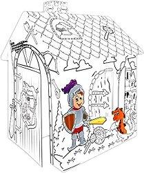 Детска сгъваема къщичка - Рицар - продукт