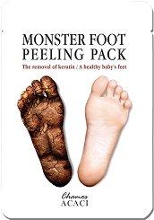 """Chamos Acaci Monster Foot Peeling Pack - Пилинг маска за крака от серията """"Acaci"""" -"""