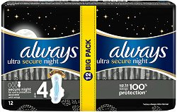 Always Ultra Secure Night Extra Protection Duo - мляко за тяло