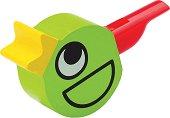 Дървена свирка - Птиче - Детска играчка - продукт