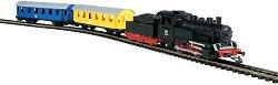 Пътнически влак с дизелов локомотив - Детски стартов комплект -