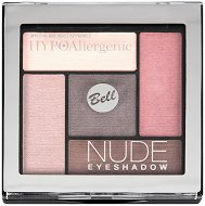 "Bell HypoAllergenic Nude Eyeshadow - Палитра с хипоалергенни сенки за очи от серията ""HypoAllergenic"" - продукт"