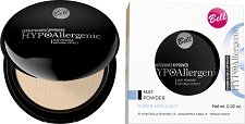 "Bell HypoAllergenic Mat Powder Natural Effect - Хипоалергенна матираща пудра за лице от серията ""HypoAllergenic"" - сенки"