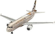 Пътнически самолет - Airbus A320 Etihad Airways - Сглобяем авиомодел - макет