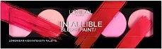 """L'Oreal Infallible Blush Paint Palette - Палитра с 5 цвята руж за лице от серията """"Infallible"""" - продукт"""