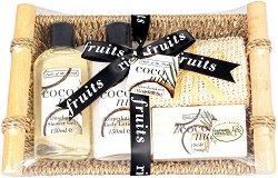 Raphael Rosalee Fruits of Paradise No.86 - Подаръчен комплект с козметика за тяло с аромат на кокос -
