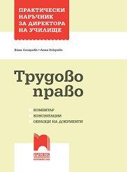 Практически наръчник за директора на училище: Трудово право - Ваня Лазарова, Анна Искрова -
