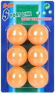 Топчета за тенис на маса - Комплект от 6 броя - играчка