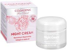 Collagena Rose Natural Night Cream Nourishing & Regenerating - балсам