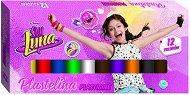 Пластилин - Soy Luna - Комплект от 12 цвята