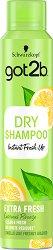 """Got2b Fresh It Up Dry Shampoo Extra Fresh - Сух шампоан за дълготрайна свежест от серията """"Fresh It Up"""" -"""