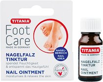 """Titania Foot Care Nail Ointment - Тинктура за впити нокти от серията """"Foot Care"""" - продукт"""