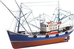 Риболовна лодка - Carmen II - Сглобяем модел от дърво -