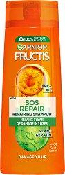 Garnier Fructis SOS Repair Shampoo - продукт