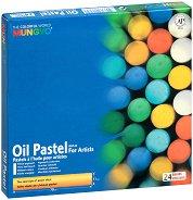Маслени пастели - Комплект от 24, 36 или 48 цвята