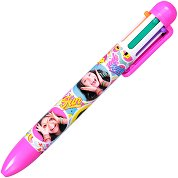 Многоцветна химикалка - Soy Luna