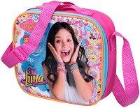 Комплект бутилка и кутия за храна в чанта - Soy Luna - творчески комплект
