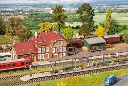 ЖП гара - Weidenbach - Сглобяем модел -
