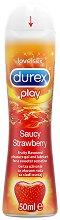 Durex Play Sweet Strawberry - Интимен лубрикант с аромат на сладка ягода -