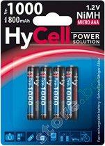 Батерия AAA - Акумулаторна NiMH (HR03) 1000 mAh -
