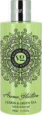 Vivian Gray Aroma Selection Lemon & Green Tea Bath & Shower Gel -