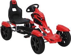 Детска кола с педали - Adrenaline EVA -