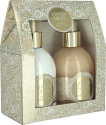 """Vivian Gray Romance Vanilla & Patchouli Luxury Beauty Set - Подаръчен комплект с козметика за ръце от серията """"Romance Vanilla & Patchouli"""" - продукт"""