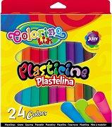 Пластилин - Комплект от 24 цвята
