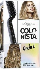 """L'Oreal Colorista Effect Ombre - Комплект за изсветляване на косата за омбре ефект от серията """"Colorista"""" - ластик"""