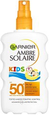 Garnier Ambre Solaire Kids - SPF 50+ - Детски слънцезащитен спрей -