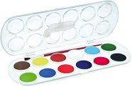 Акварелни бои - Комплект от 12 цвята - продукт