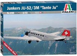 "Транспортен самолет - Junkers JU-52 / 3M ""Tante Ju"" - Сглобяем авиомодел - макет"
