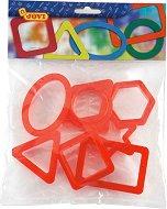 Формички за пластилин - Геометрични фигури