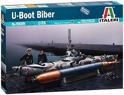 Подводница - U Boot Biber - Сглобяем модел -
