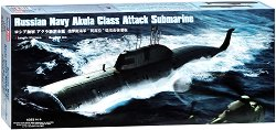 Подводница - ССН Акула - Сглобяем модел -