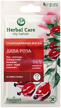 """Farmona Herbal Care Wild Rose Rejuvenating Mask - Подмладяваща маска за лице 2 x 5 ml от серията """"Herbal Care"""" -"""