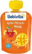 Bebivita - Забавна плодова закуска с ябълка, манго и праскова - продукт
