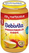 Bebivita - Пюре от круша с праскови и маракуя - пюре