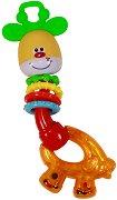 Дрънкалка - Жираф - детска бутилка