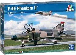 Американски разузнавателен изтребител - F-4E Phantom II - Сглобяем авиомодел - макет