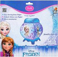 Направи сама кутия за бижута - Замръзналото кралство - Творчески комплект -