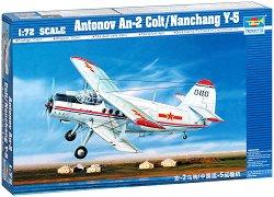 Руски транспортен самолет - Антонов АН-2 Colt Nanchang - Сглобяем авиомодел - макет